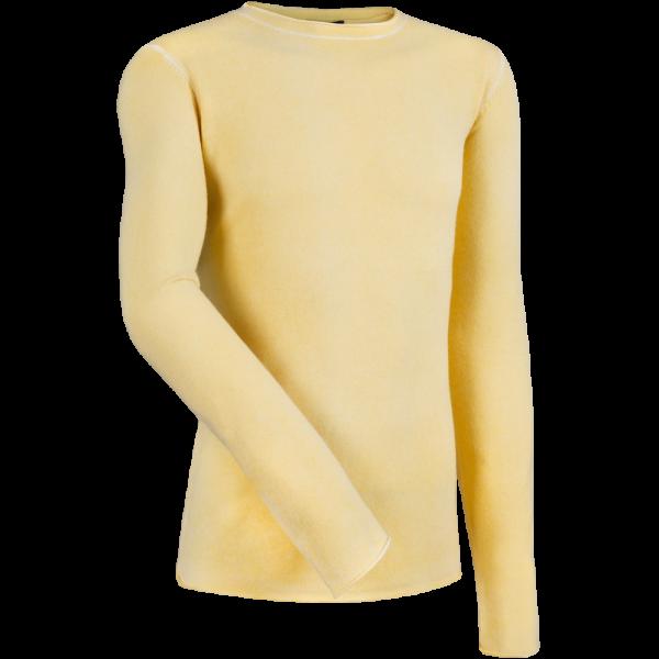 Rundhalspullover DAN -gelb-
