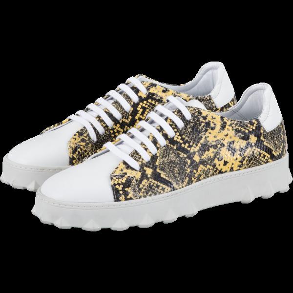 Leder Sneaker ROY -python-