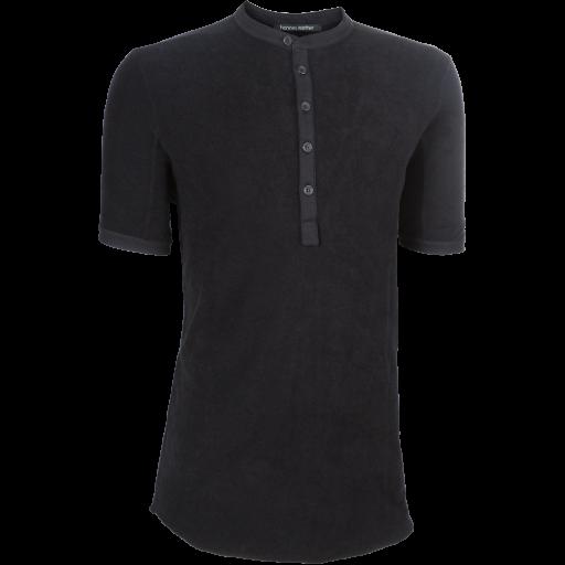 Frotee T-Shirt PRADO -schwarz-