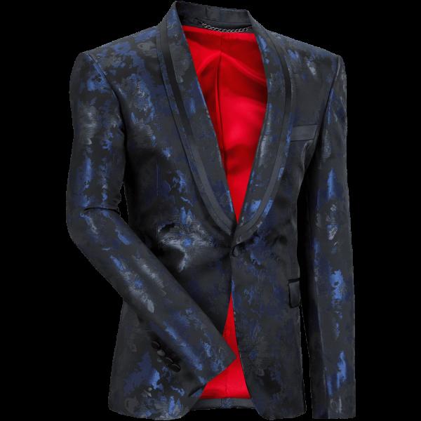 Sakko CHARLY 2.0 -blau-