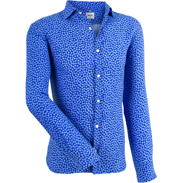 Casual-Hemd -blau-