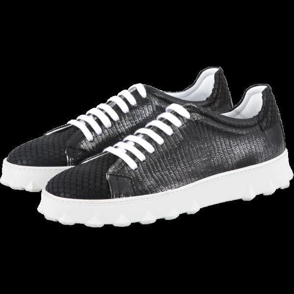 Leder Sneaker ROY -black mamba-